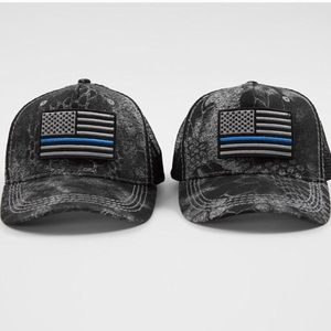 35e44fb5 Affliction Accessories - 🆕 Affliction A4 Police Trucker Hat